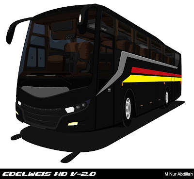 Design Bus Edelweis HD V-2.0 Black