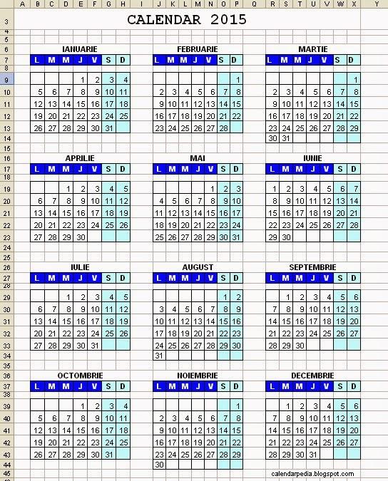 Календарь excel с номерами недель