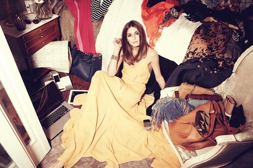 Olivia Palermo con vestido Rochas