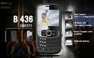 Fly B436 QWERTY Dual SIM Mobile