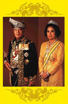 Yang Di Pertuan Agong dan Raja Permaisuri Agong Kesembilan