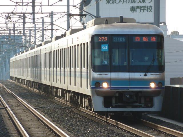 東京メトロ東西線 西船橋行き4 07系