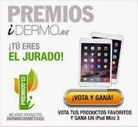 ¡Vota y gana un iPAD Mini 3!