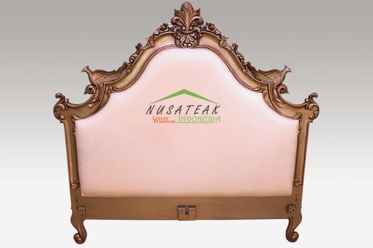 Antique Gold Bed French Style: Strive