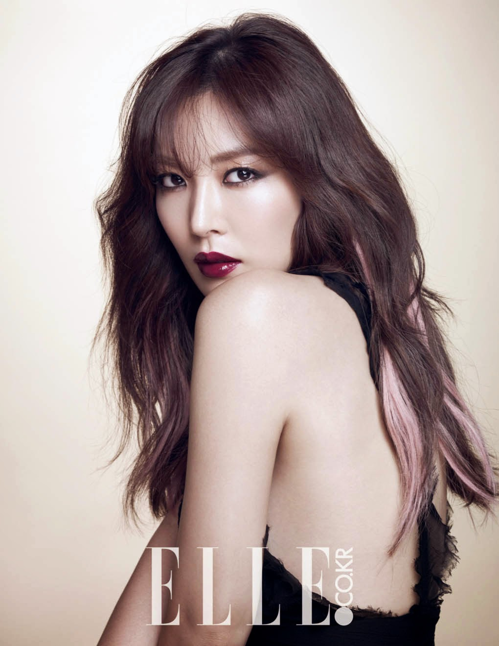 Kim So Yeon - Elle Magazine November Issue 2014