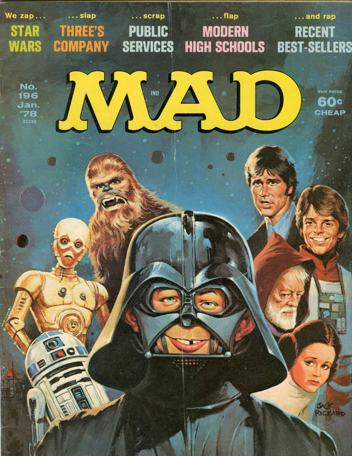Star Wars 77 80 Collector S Blog Mad Magazine