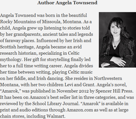 Author Angela Townsend