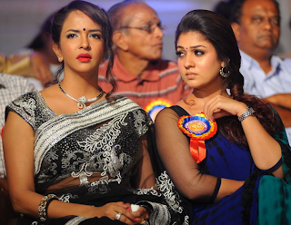 Nayantara and Manchu Lakshmi At Nandi Awards