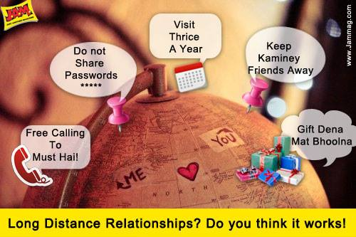 Online long distance dating