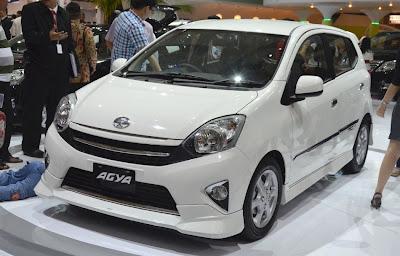 Spesifikasi dan Harga Astra Toyota Agya