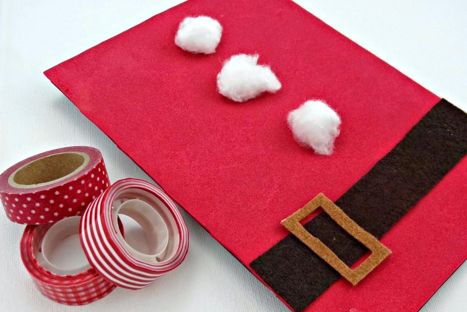 Celebra con ana compartiendo experiencias creativas navidad - Felicitaciones navidenas caseras ...