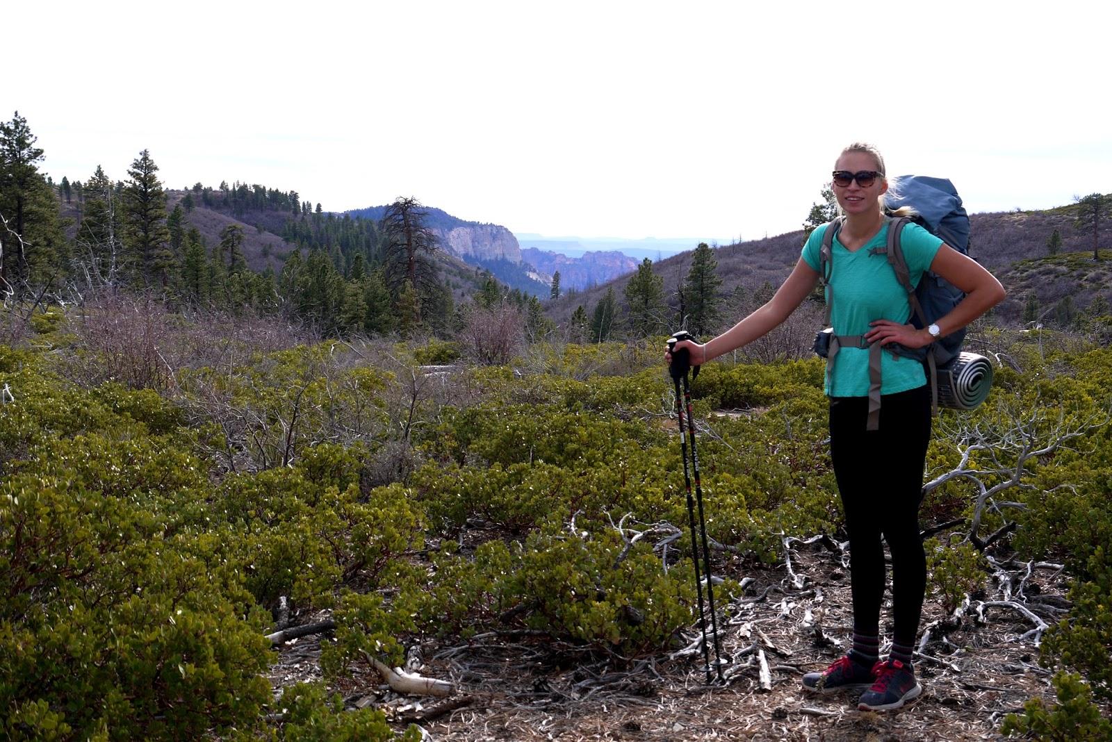 Zion National Park, Utah, West Rim Trail