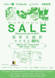 Bonita Elianto Warehouse Sale 2012
