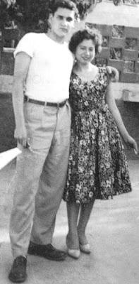 Javier Heraud y Carmen Luz Bejarano