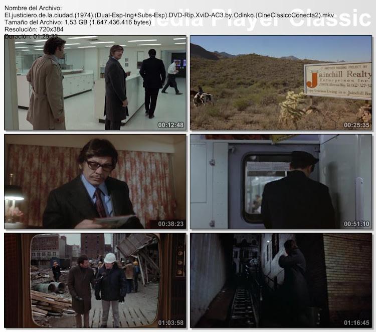 Capturas: El justiciero de la ciudad | 1974 | Death Wish