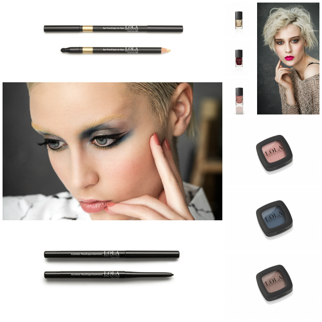 Diferentes looks y productos de la colección It Girl de Lola Make Up