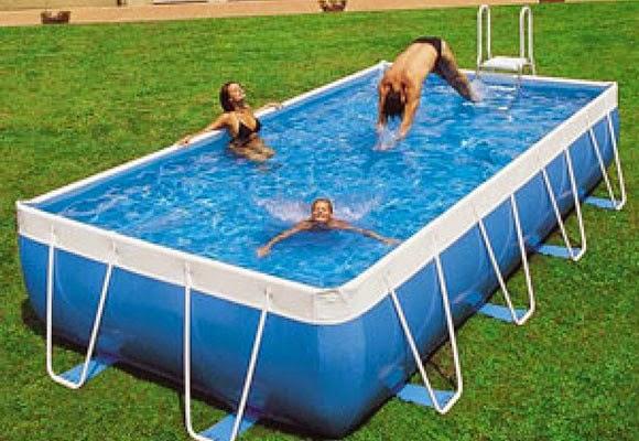 Marzua todo sobre las piscinas desmontables for Precio de piscinas hinchables