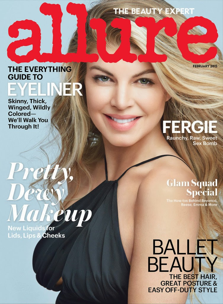 Fergie by Patrick Demarchelier for Allure February 2015