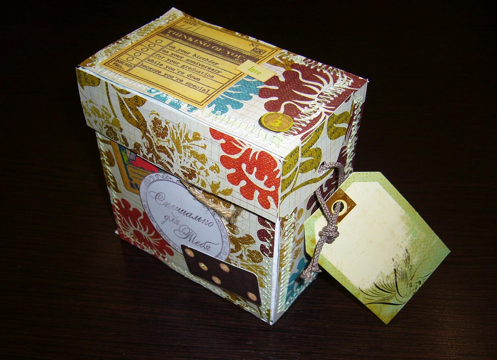 Поделка из коробок от чая 189