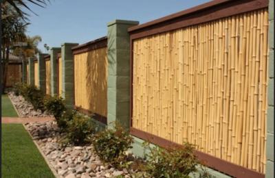 Pagar Bambu Rumah Minimalis Terbaru