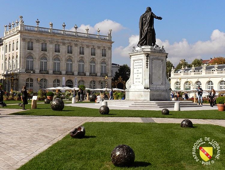 NANCY (54) - Place Stanislas - jardin éphémère 2014