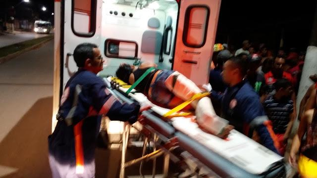 Santarém - Ciclista embriagado provoca acidente na Dom Frederico.