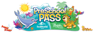 Sea World and Busch Gardens Pre School Pass