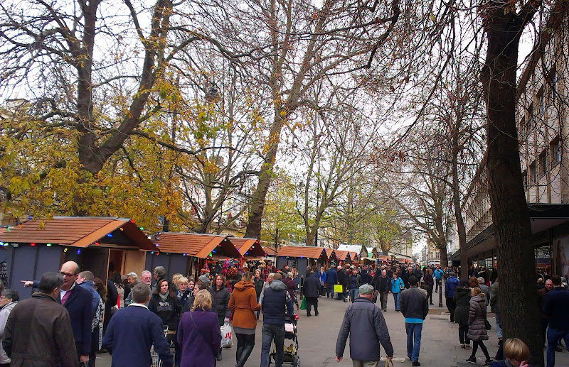 Thankfully it wasn't as busy as Bath Christmas Market - in Cheltenham  title=