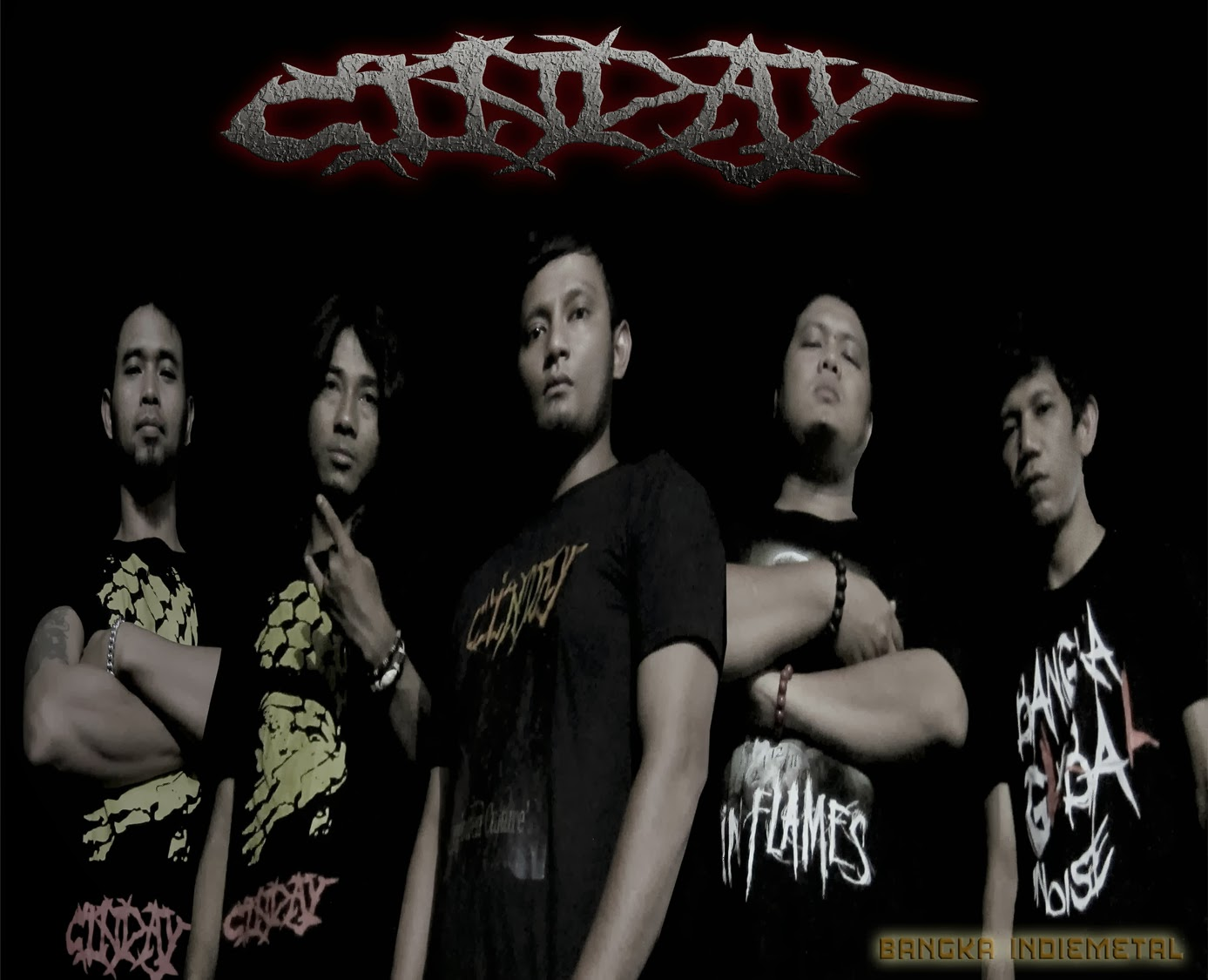 Cinday Band Death Metal Sungailiat - Bangka Belitung Foto Personil Logo Wallpaper