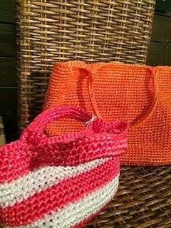 スズランテープでバッグを編む