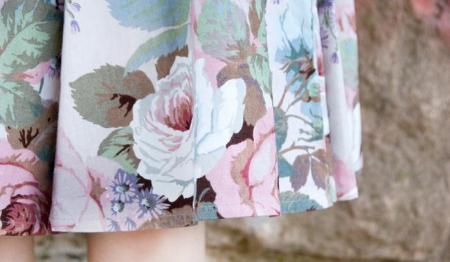 Lena Hoschek, SS11, flower print