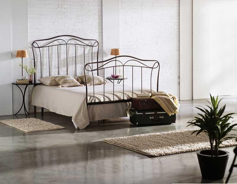 Cama de forja, camas de todos los tamaños