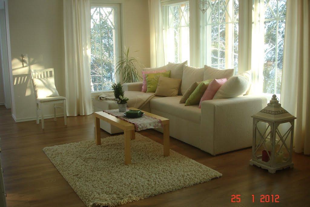 Inreda Kok Och Vardagsrum : vardagsrummet skall det vara gront och rosa till hosten kunde man