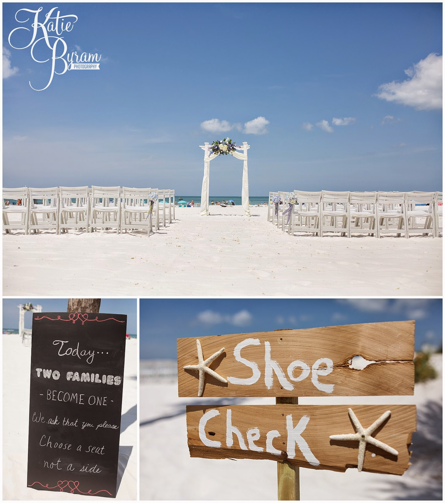wedding on the beach, beach wedding, shoe check, two families become one, destination wedding, clearwater beach wedding, hilton clearwater beach wedding, katie byram photography, florida wedding