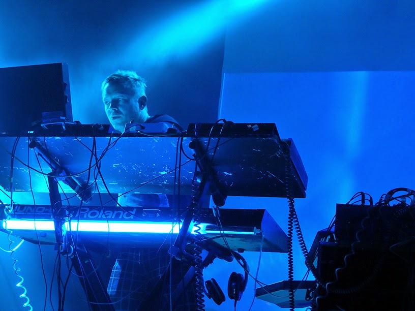 Martin Swan : Vile Electrodes live @ Electronic Circus 2014 / photo S. Mazars