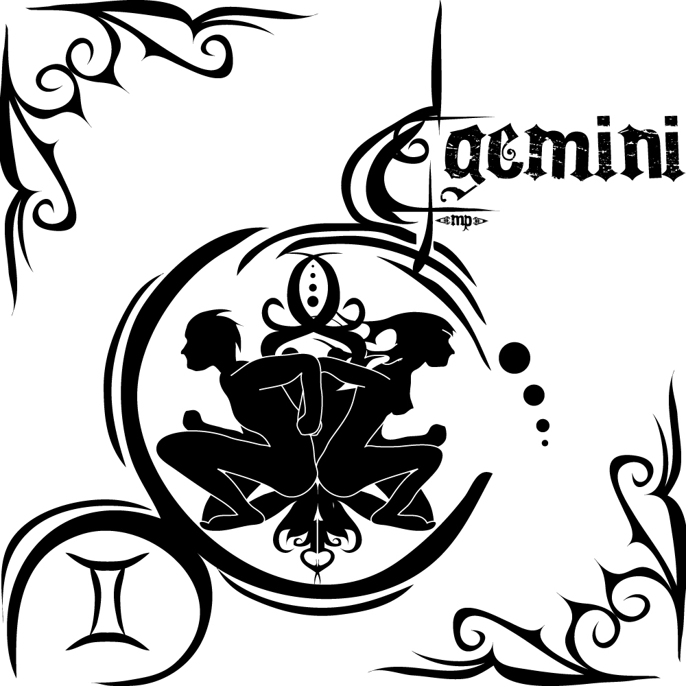 Wwe Wrestlers Profile: Zodiac Gemini Sign Logo And Symbol ...
