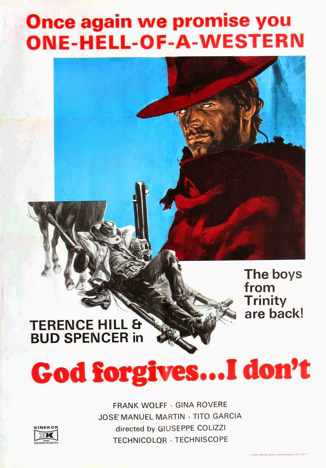 Hump day posters god forgives i don t 1967