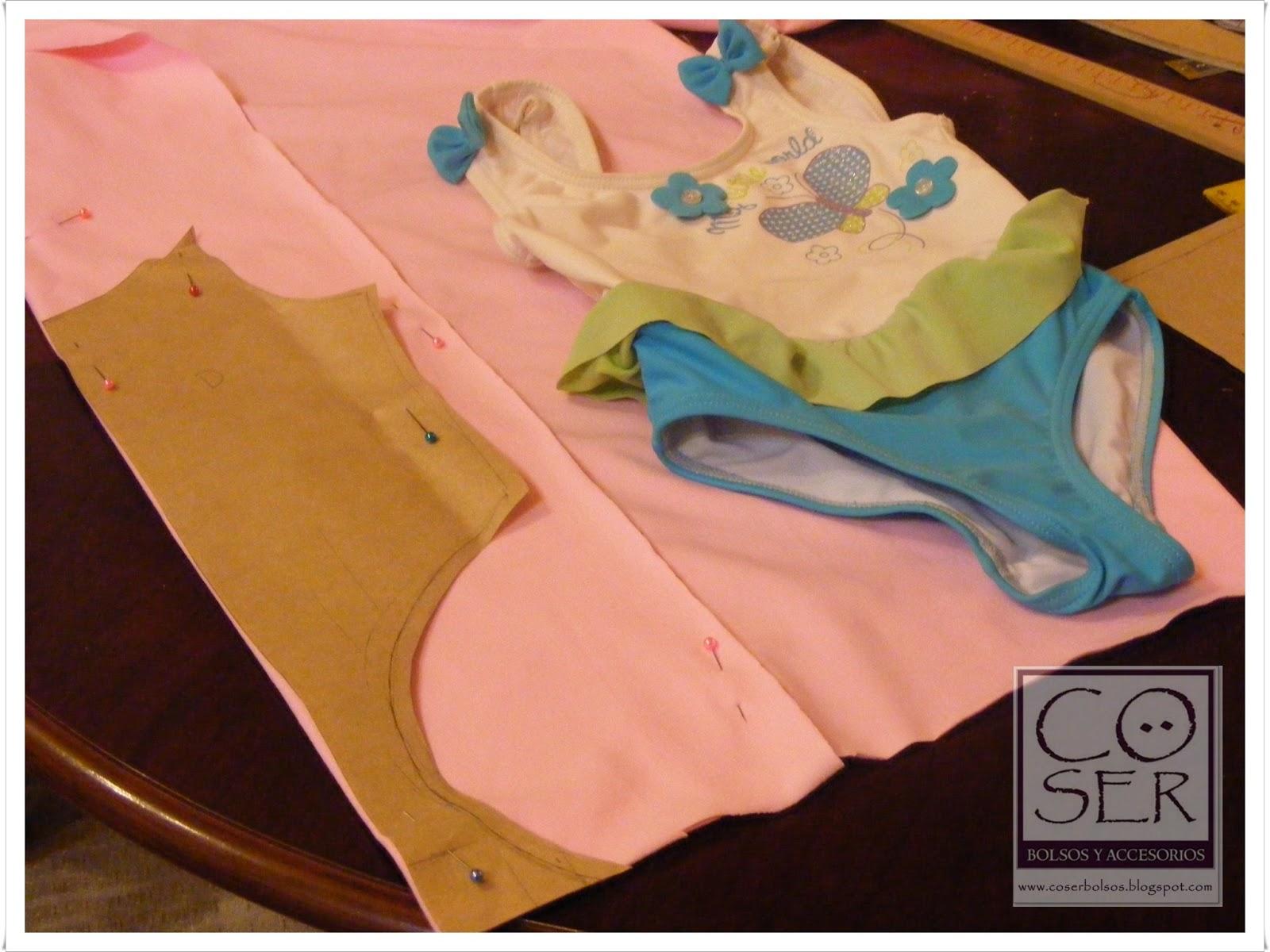 Imagenes De Trajes De Baño Para Nina:Cö Ser: como hacer un traje de baño para niña / malla para ballet