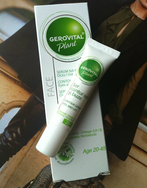 GEROVITAL Plant - serum na kontur oczu i ust
