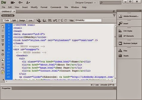 Free Download Adobe Dreamweaver CS6 Full Version Crack Single Link