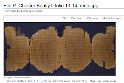 Chester Beatty Papyri