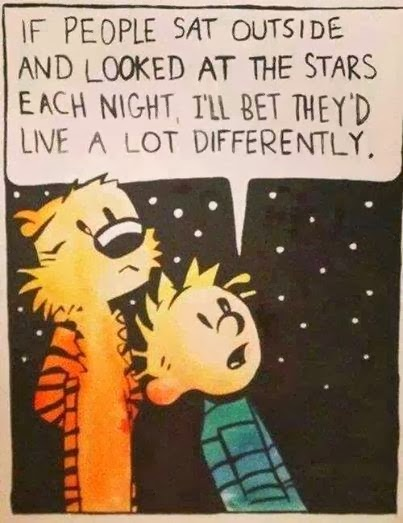 Advice from a star gazer