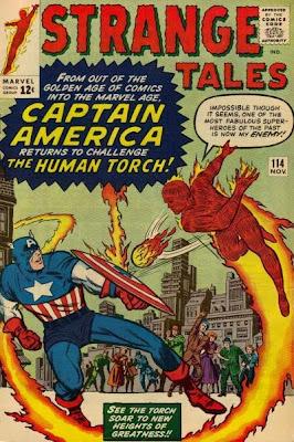 Strange Tales #114, Human Torch v Captain America