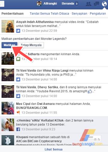 Sebagai pengguna FB yang aktif, pasti anda sudah pernah menerima pemberitahuan atau notifikasi tentang teman yang mengajak bermain game tertentu. Biasanya pemberitahuan tersebut dilakukan berulang-ulang kali muncul di bagian menu notifikasi akun Facebook kita