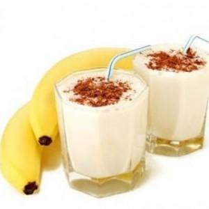 Resep es pisang susu