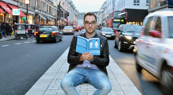 Benjamín Serra y libro sobre inmigración en Londres