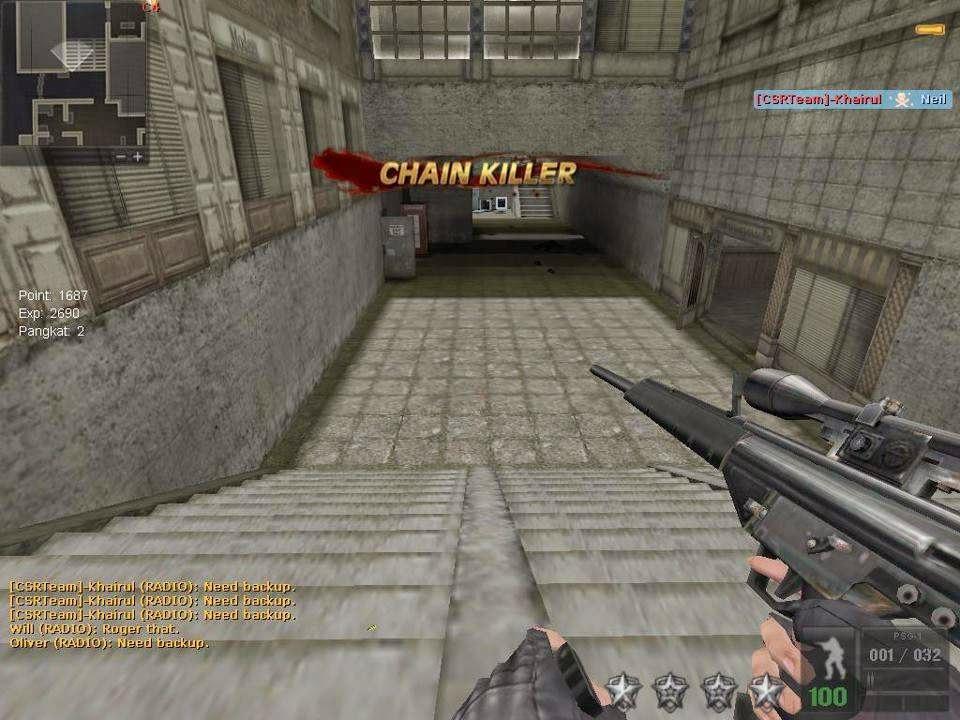 Counter Strike Point Blank (CSPB) Revolution PC