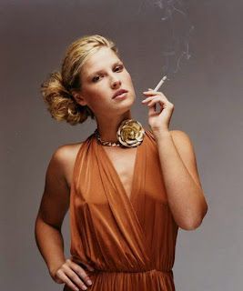 ali larter smoking