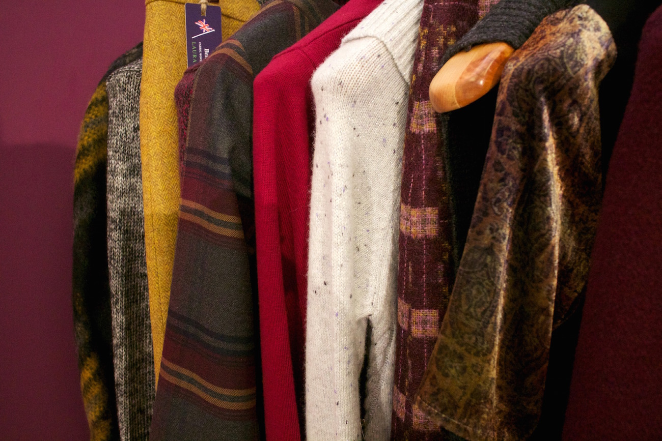 rich jewel tones at the laura ashley aw15 press day