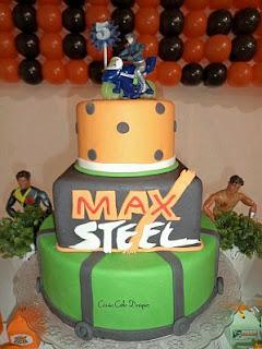 Tortas de Max Steel